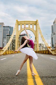 Emily Carskadden outdoor ballet photo shoot by Katie Ging.  Looks like fun!