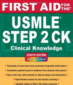 First Aid for the USMLE STEP 2 CK | Free Download Medical Books | Bloglovin'