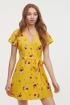 Check out this great collection of floral spring and summer dresses for every style and occasion. Cute Floral Dresses, Floral Maxi Dress, Wrap Front Dress, Wrap Dress, Summer Outfits, Summer Dresses, Women's Dresses, Easter Dress, Ladies Dress Design