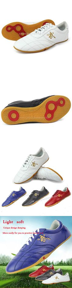 Shoes and Footwear 73989: Professional Tai Chi Martial Arts Kung Fu Wing Chun Soft Leather Shoes Footwear -> BUY IT NOW ONLY: $36.99 on eBay!