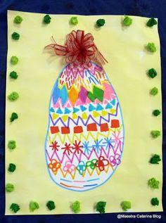Maestra Caterina: Uova di Pasqua. Pregrafismo e creatività