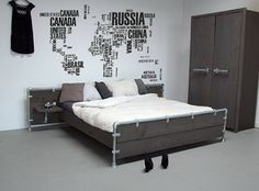 Slaapkamer blauw | Interieur Inspiratie