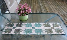 Freemotion by the River: Forgotten Table Runners
