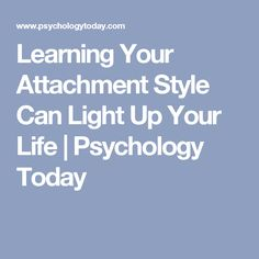 Quiz On Attachment Theory Learning Your A...