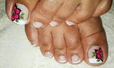 Feet Care, Diana, Facebook, Beauty, Finger Nails, Simple Toe Nails, Pretty Toe Nails, Pedicures