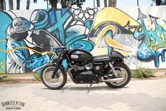 Custom Triumph T100 | Del Gasan, Triumph T100 Custom - Bonnefication