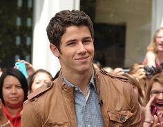 Nick Jonas. I don't care he's adorable.