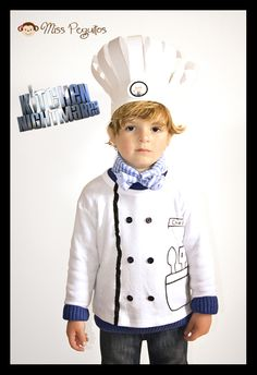 disfraz chef costume  sc 1 st  Pinterest & A Creative Chef Costume | Pinterest | Chef costume Holidays ...