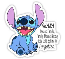 lilo and stitch  Sticker