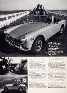 1972 MG Midget.