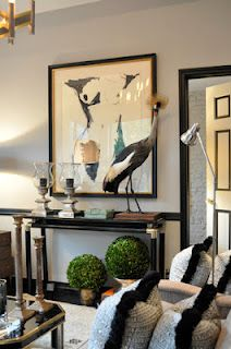Trend: birds as accents--Ryan Korban, designer