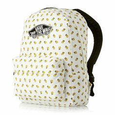 competitive price 614d4 a2084 Vans Off The Wall Charlie Brown Peanuts Old Skool II Backpack Bag -  Woodstock  fashion