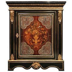 A French Mid 19th Century Louis XIV Style Boulle Cabinet
