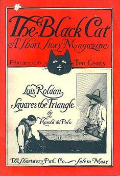 Black Cat 1916 http://www.pinterest.com/pin/353462270728429534/