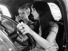 Cher and Twiggy