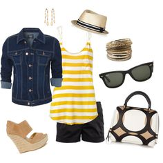 Summer Style, created by lucksjacks on Polyvore