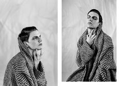 Maxime Anselin photographed by Lempire+Caputo and styled by Geoffrey Delchambre.
