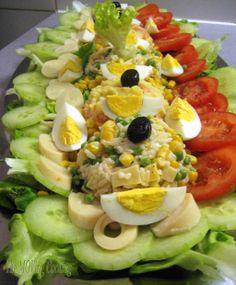 Plats Ramadan, Moroccan Salad, Vegan Bolognese, Russian Dressing, Bread Salad, Cooking Time, Food Dishes, Italian Recipes, Salad Recipes