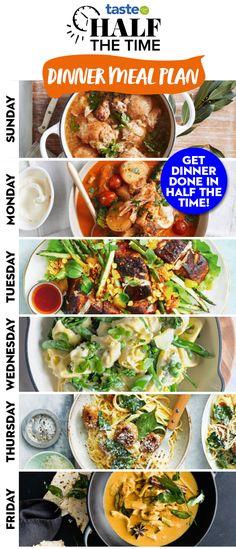 One Pot Vegetarian, Easy Vegetarian Dinner, Vegetarian Cooking, Cooking Recipes, Fast Easy Dinner, Easy Dinner Recipes, Dinner Ideas, Easy Meals, Healthy Foods