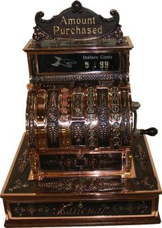 1920 cash register - Google Search