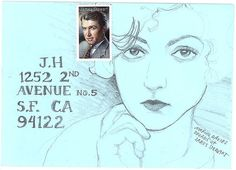 Illustrated Envelope by superdilettante, via Flickr