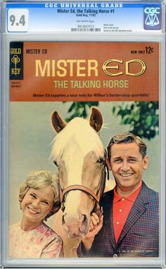 Mister Ed Old Comics, Vintage Comics, Mister Ed, Horse Books, Harvester, Dramas, Bamboo, Comic Books, Movies