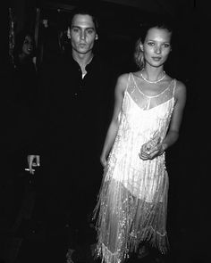 #VogueThrowback New York Fashion Week started with a bang last night with the Calvin Klein show reminding us of this classic fashion moment: Johnny Deep and Kate Moss wearing Calvin Klein in 1994. #katemoss #johnnydepp #calvinklein  via VOGUE PARIS MAGAZINE OFFICIAL INSTAGRAM - Fashion Campaigns  Haute Couture  Advertising  Editorial Photography  Magazine Cover Designs  Supermodels  Runway Models