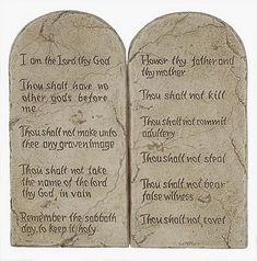 ten commandments buy a replica ten commandments from museum store company sermon series museum