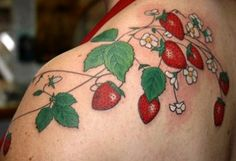 I.m thinking about a tattoo incorporating flowers, mushrooms, berries, etc from the forest. But not cartoony or cutesy.