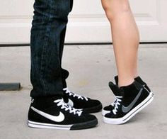 Wanting matching shoes with my bf