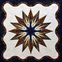 Vintage Compass, Quiltworx.com, Made by CI Nancy Strath.