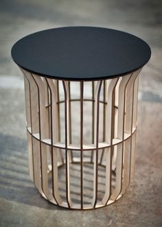 jonathan dorthe laser cut table