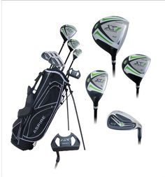 official photos 44907 b641a Aspire X1 Men s Complete Golf Set Includes Titanium Driver, S.S. Fairway,  S.S. Hybrid,