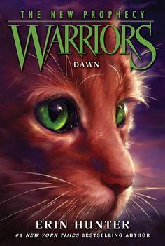 New cover for Warriors the new prophecy: dawn. Book three