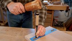 Simple Tape Trick for Tight Fitting Through-Mortises - FineWoodworking