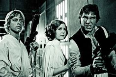 George Lucas says Mark Hamill, Carrie Fisher, and Harrison Ford have signed on for Star Wars: Episode VII - Nerd Reactor Mark Hamill, Images Star Wars, Star Wars Pictures, Crazy Pictures, Star Wars Episodio Iv, Starwars, Carrie Fisher Harrison Ford, Amour Star Wars, Star Wars Set