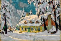 Specialists in selling artwork by Clarence A. Gagnon and other Canadian artists for over sixty years. Contact us to sell your artwork by Clarence A. Canadian Painters, Canadian Artists, Winter Painting, Winter Art, Famous Artists, Great Artists, Clarence Gagnon, Of Montreal, Christmas Past