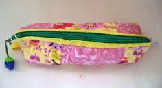 Lili Ponto a Ponto: #Porta lápis em #patchwork.
