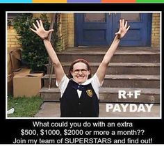 Next month my Payday will hit 4 digits! What could you do with an extra $500 or…