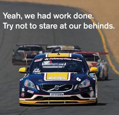 Yeah, we had work done. Try not to stare at our behinds. #KPAXracing