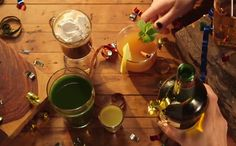 "These recipes come to us from Laura Miller of Tastemade. Delicious, vegan versions of Irish Coffee, a Spiced Cider Toddy and what she calls a ""Green Juice Bomb."" 2 of the beverages, she has added Irish Whiskey, especially for St Patrick's Day celebrations. However, any of these 3 would be great without the …"