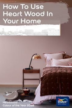 Bring the latest trend from Dulux into your home with these Heart Wood palettes.