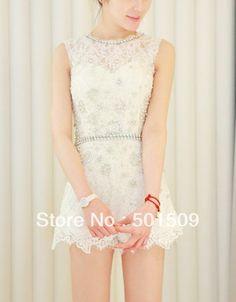 shipping ladies women luxury rhinestone beading leotard white lace embroidery leotard dancing/fashion/princess ballet