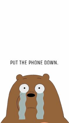 We bare bears wallpaper Dont Touch My Phone Wallpapers, Iphone Wallpaper Images, We Bare Bears Wallpapers, Panda Wallpapers, Disney Phone Wallpaper, Iphone Background Wallpaper, Cute Cartoon Wallpapers, Pretty Wallpapers, Aesthetic Iphone Wallpaper