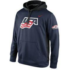 Nike Men's USA Hockey Navy KO Hoodie - Dick's Sporting Goods