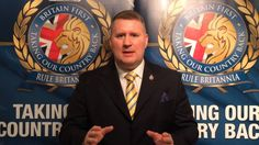 Happy New Year from Britain First leader Paul Golding
