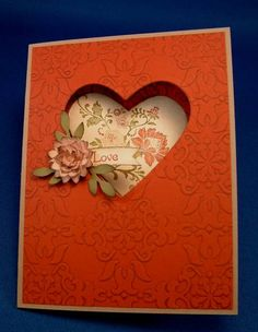 embossing folder vintage wallpaper