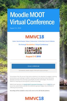 Moodle MOOT Virtual Conference Conference, Technology, Education, Learning, Day, Tech, Studying, Tecnologia, Teaching