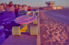 Los Angeles Venice Beach #skateboard #penny #pastel