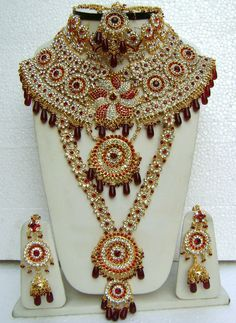 Indian Wedding Necklace Set